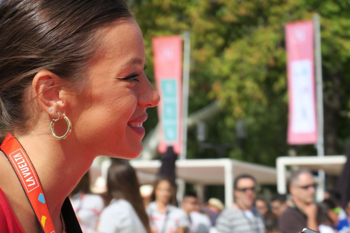 Elisa Garcia hotesse Cofidis