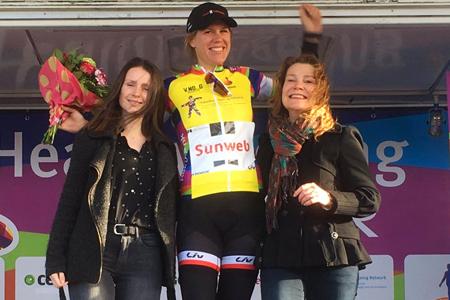 Ellen Van Dijk leader du Healthy Ageing Tour