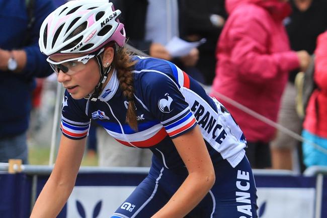 Evita Muzic en équipe de France Juniors