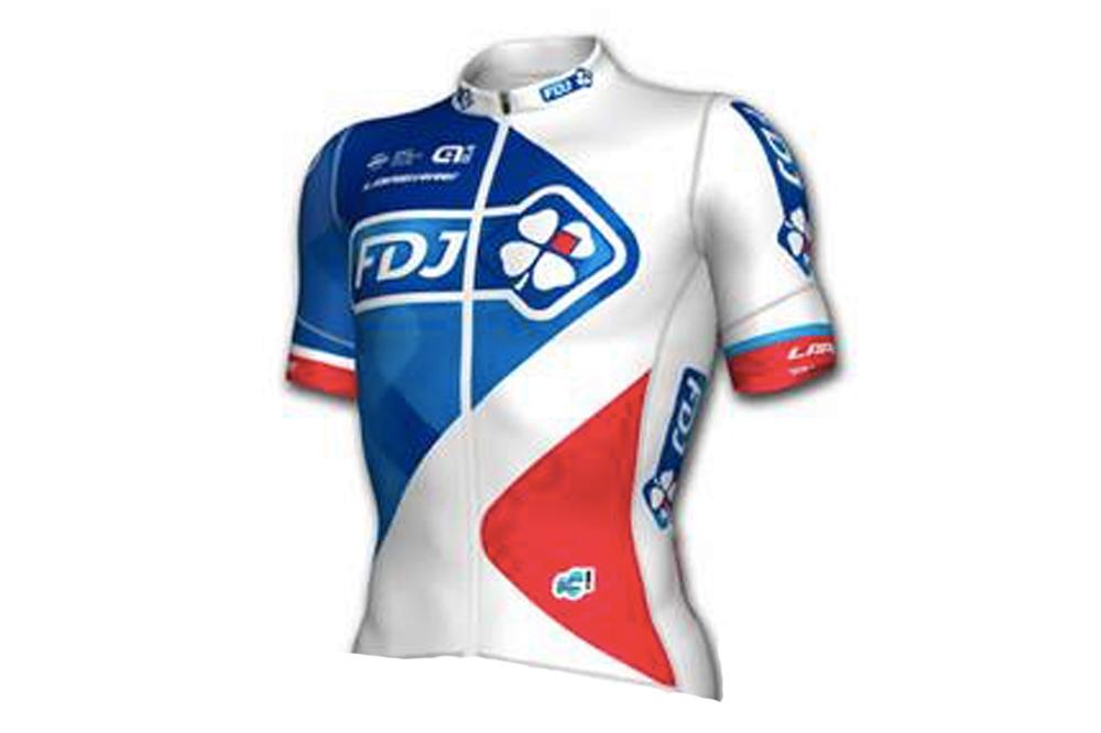 Le maillot Alé de la FDJ