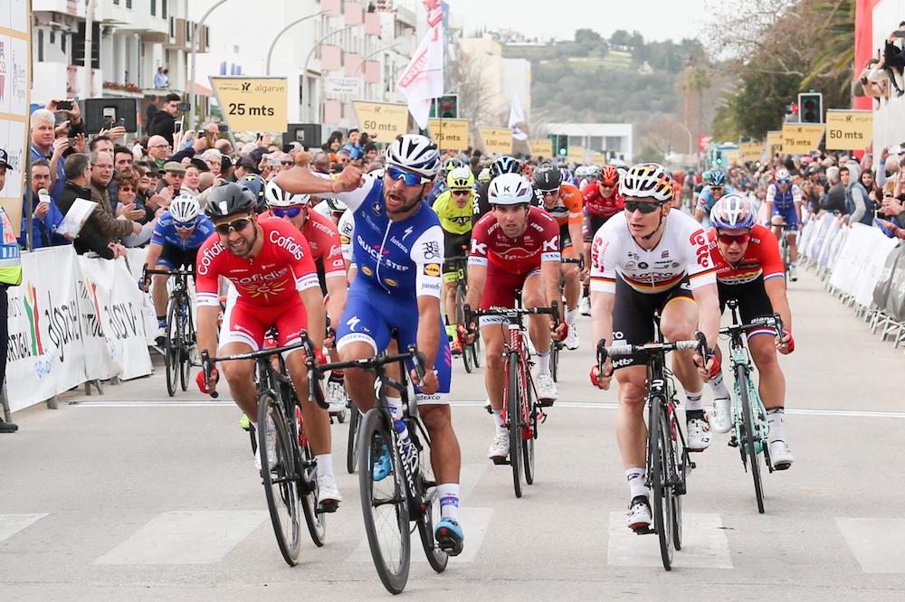 Fernando Gaviria gagne au Tour d'Algarve