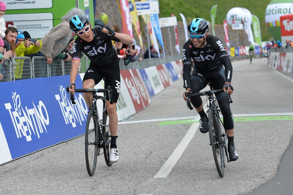 Thibaut Pinot n'est plus leader — Tour des Alpes