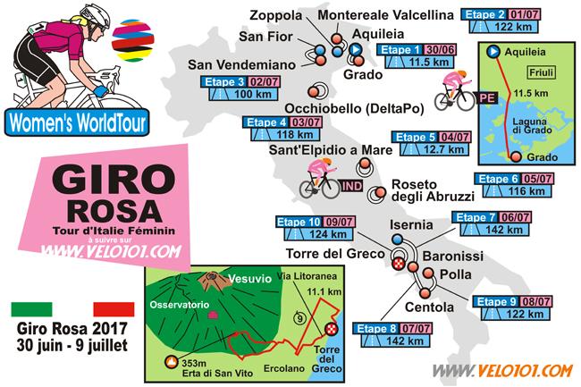 Giro Rosa 2017 Parcours 650 hq