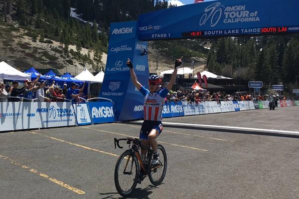 Guarnier s'impose sur la 1ère étape du Tour de Californie 2017
