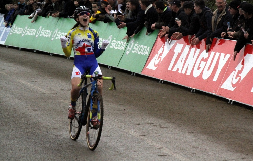 Jade Wiel championne de France Juniors