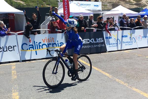 Katie Hall s'impose sur la 2ème étape du Tour de Californie