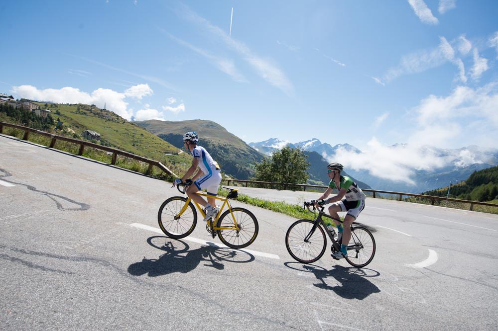La montée de l'Alpe d'Huez