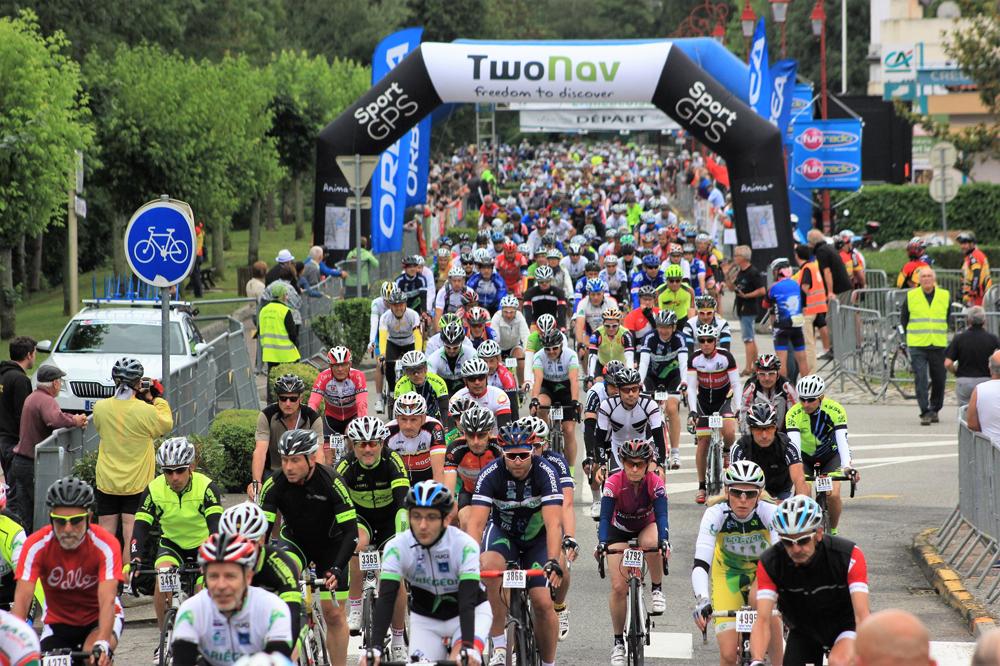 5250 cyclos au départ de l'Ariégeoise