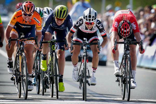 L'arrivée du Tour des Flandres Dames 2017