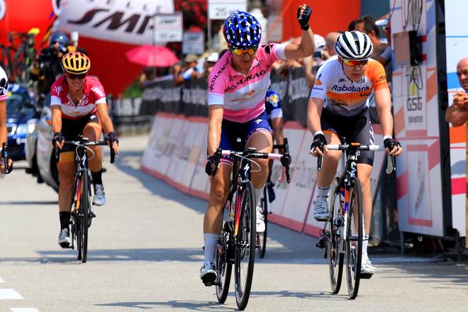 L'arrivée finale du Giro Rosa 2016