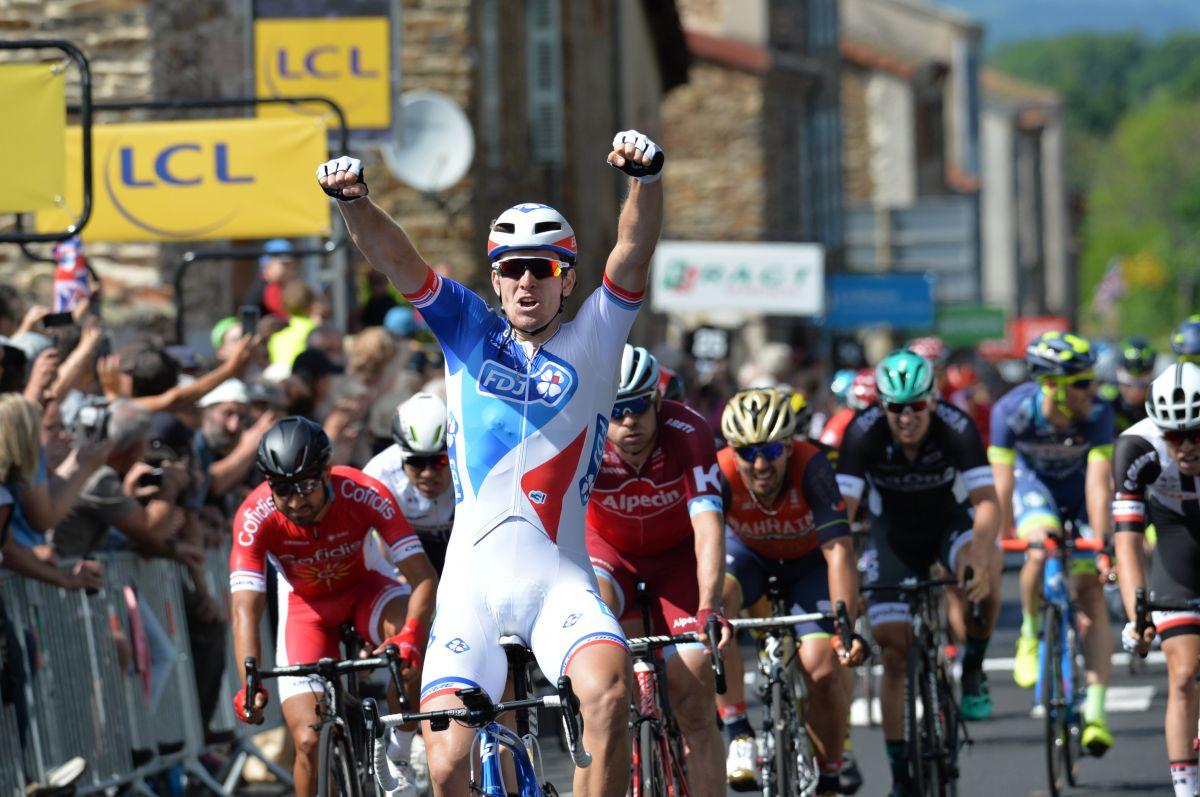 La 2ème étape du Dauphiné est pour Arnaud Démare