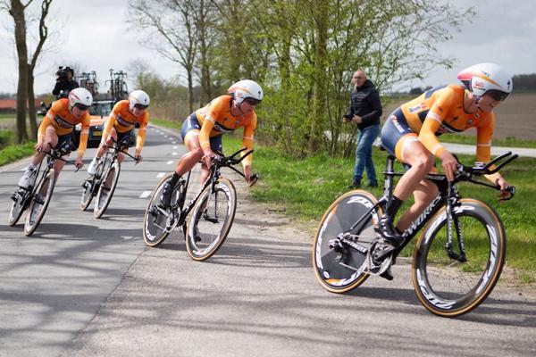 La Boels-Dolmans gagne le CLM par équipes