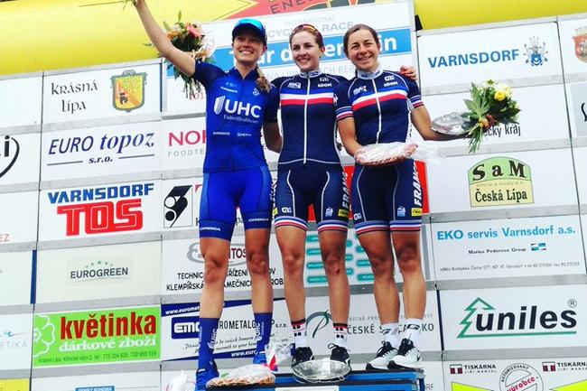 Labous et Delzenne sur le podium du Tour de Feminin 2017