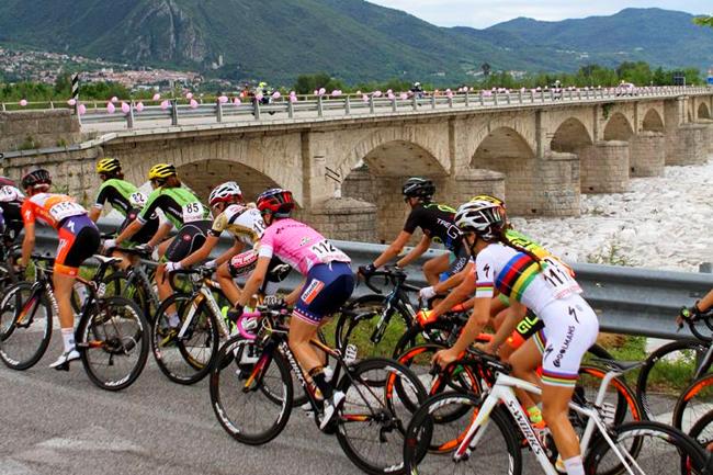 Le Frioul reçoit le Giro Rosa 2016