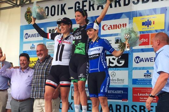 Le podium de Gooik-Geraardsbergen-Gooik 2017