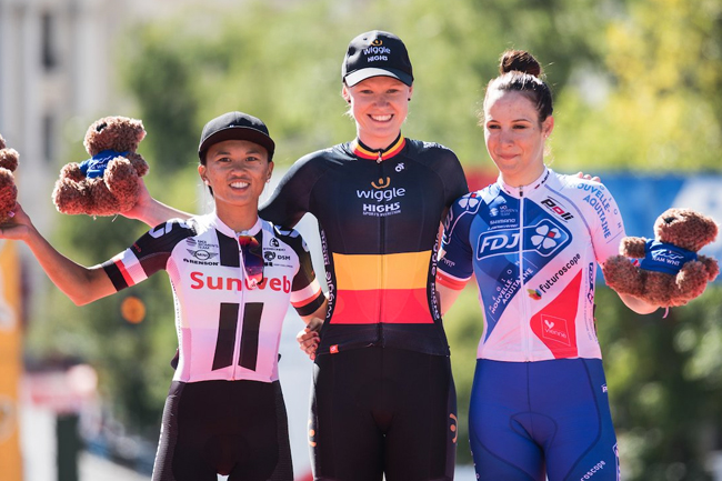 Le podium du Madrid Challenge by La Vuelta 2017