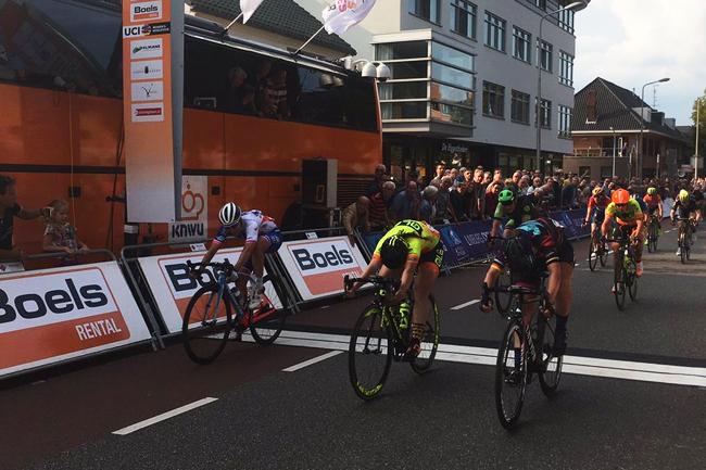Le sprint de la 4ème étape du Boels Ladies Tour 2017