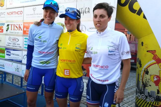 Les maillots de la 3ème étape du Tour de Feminin 2017