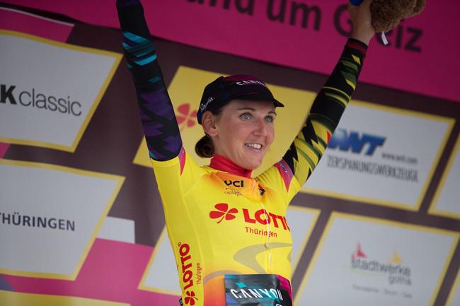 Lisa Brennauer gagne le Tour de Thuringe 2017