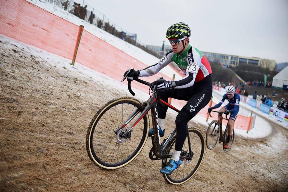 Loris Rouiller champion d'Europe Juniors CX