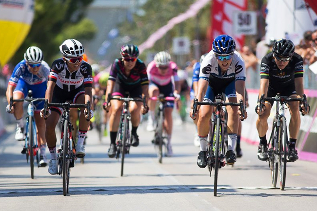 Lotta Lepisto s'impose sur le Giro Rosa 2017