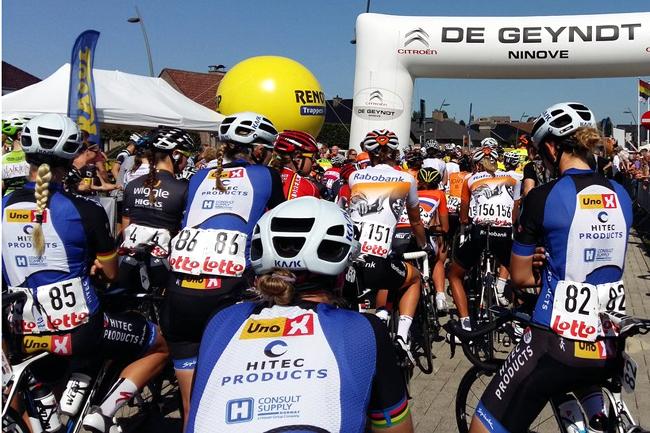 Lotto Belgium Tour 2016 : le départ de Lierde