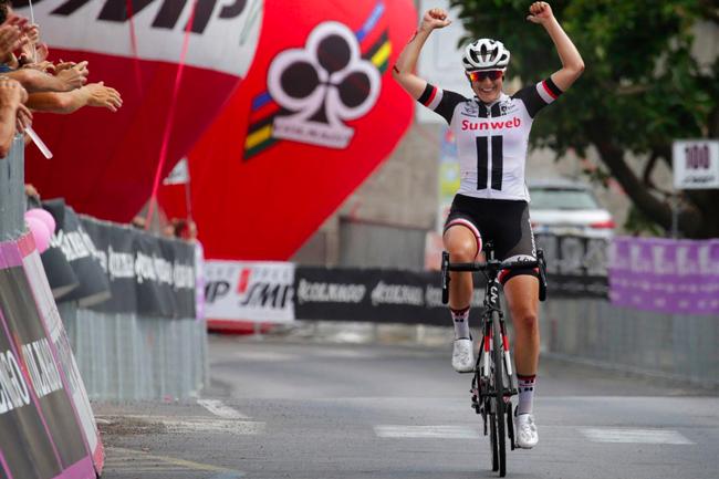 Lucinda Brand s'impose sur le Giro Rosa 2017