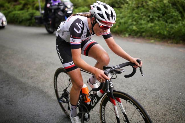 Lucinda Brand (Team Sunweb) à l'attaque