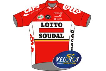 Maillot de Lotto-Soudal Ladies 2017