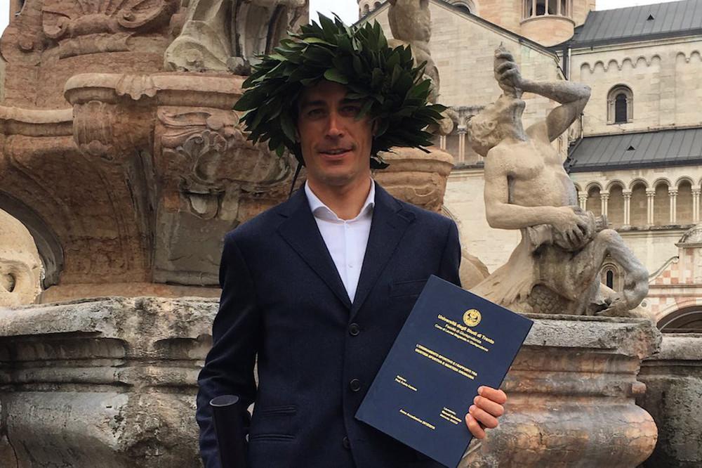 Manuel Quinziato valide son diplôme en droit