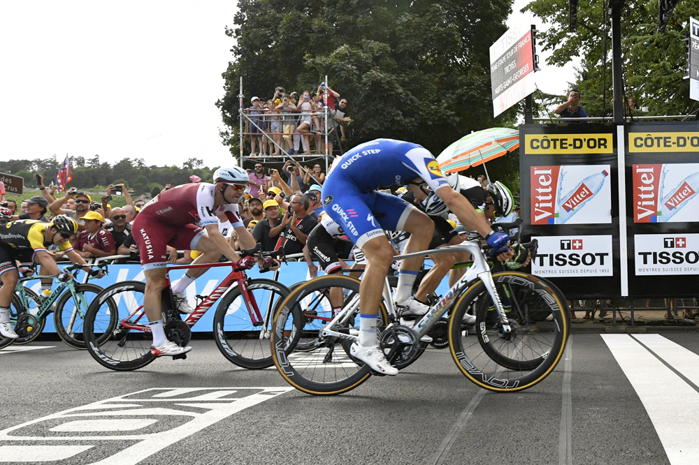 Marcel Kittel ajuste Edvald Boasson-Hagen pour 6 millimètres