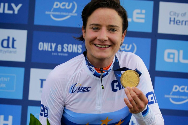 Marianne Vos championne d'Europe 2017