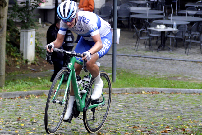 Marianne Vos (WM3 Energie) sur le Lotto Belgium Tour 2017