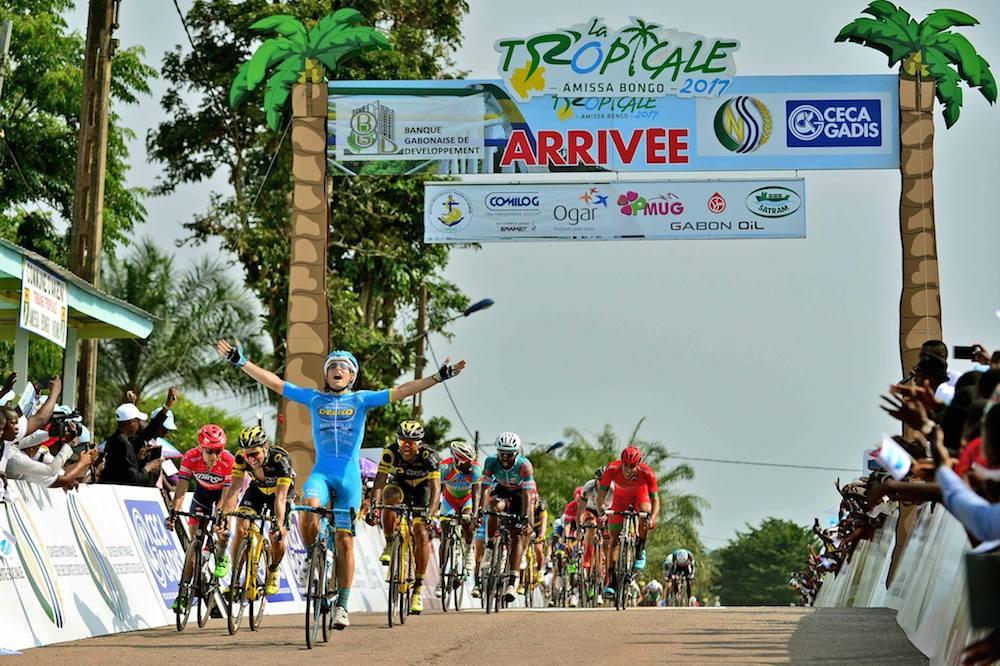 Mikel Aristi gagne au sprint au Gabon