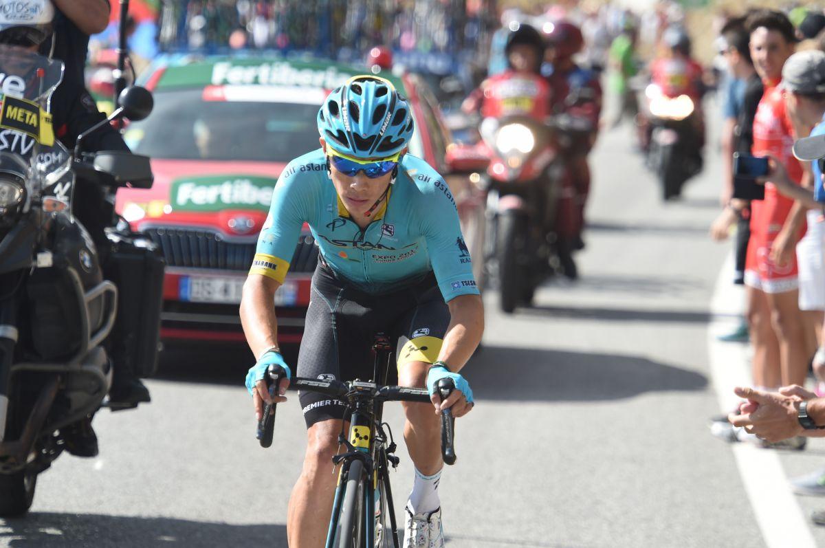 Miguel Angel Lopez sur la Vuelta