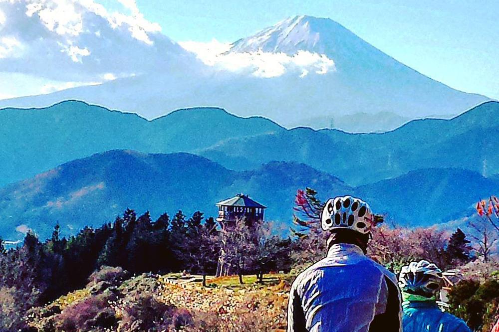 Face au Mont Fuji