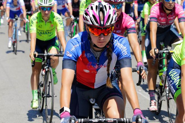 Nikola Noskova sur le Giro Rosa 2017