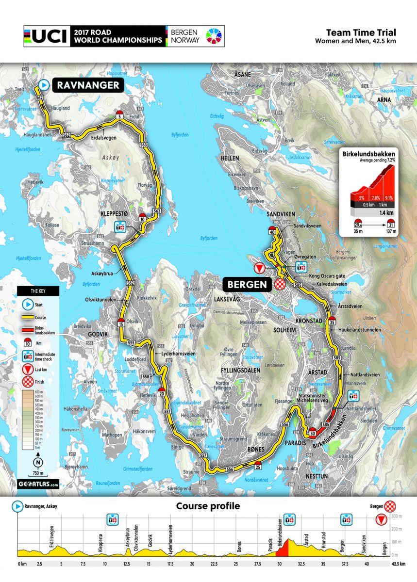 Parcours TTT World Championship