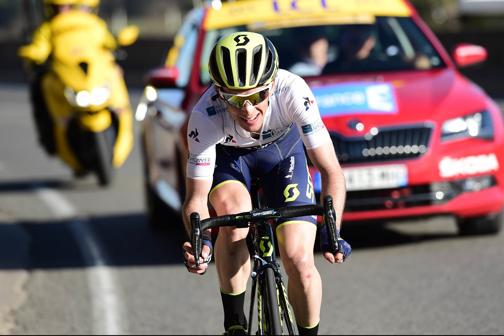 Cyclisme: Simon Yates (Orica), le Tour plutôt que le Giro
