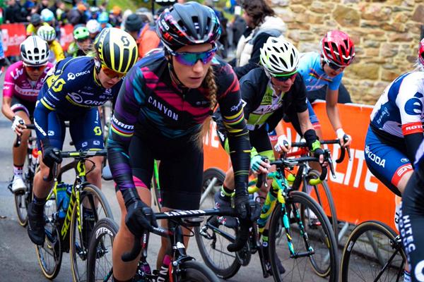 Pauline Ferrand-Prévot sur la Flèche Wallonne 2017
