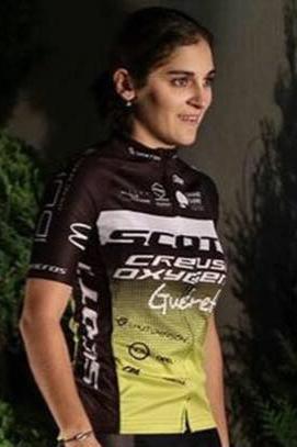 Perrine Clauzel sous ses nouvelles couleurs du team Scott-Creuse Oxygène-Guéret