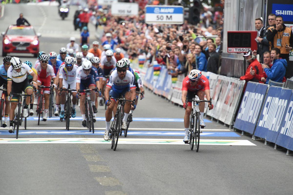 Peter Sagan triple champion du Monde !