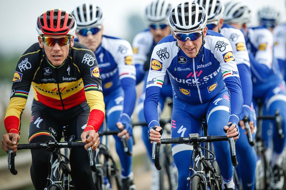Philippe Gilbert et Daniel Martin