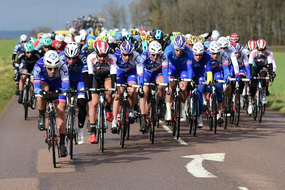 L'équipe FDJ emmène le peloton de Paris-Nice