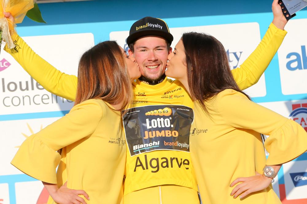 Primoz Roglic vainqueur du Tour d'Algarve