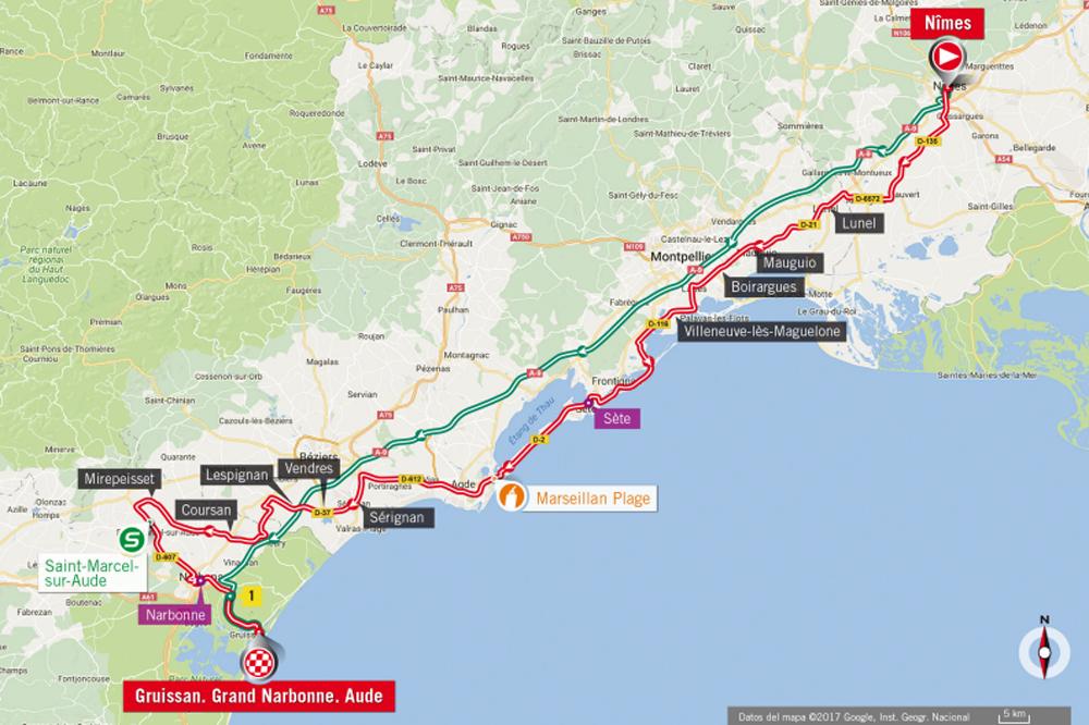 Vuelta 2017 : Matteo Trentin vainqueur de la 4ème étape à Tarragone