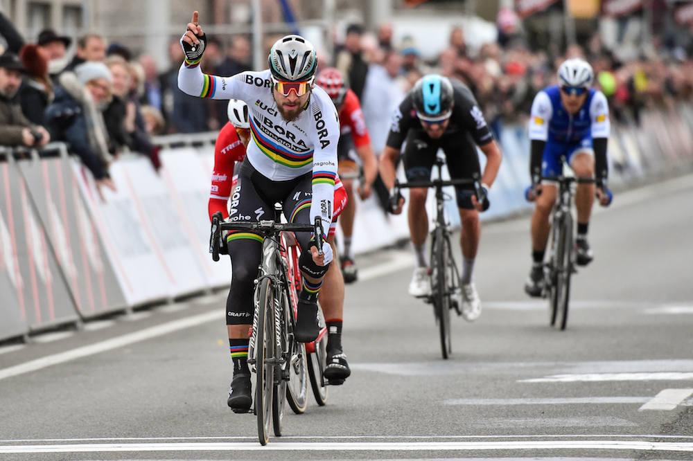 Peter Sagan comble sa déception en remportant Kuurne-Bruxelles-Kuurne