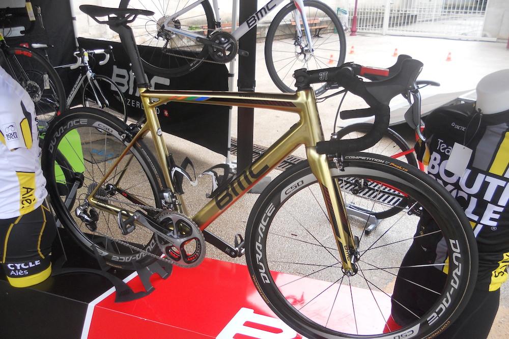 Le BMC de Greg Van Avermaet