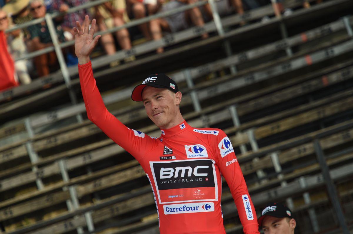 Rohan Dennis en rouge