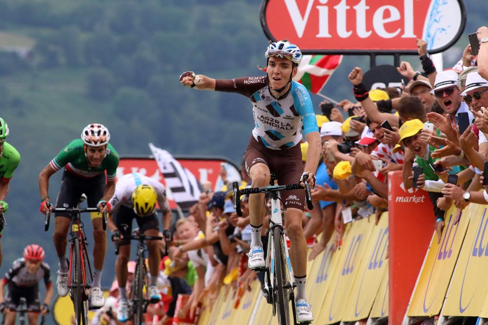 Romain Bardet s'impose à Peyragudes